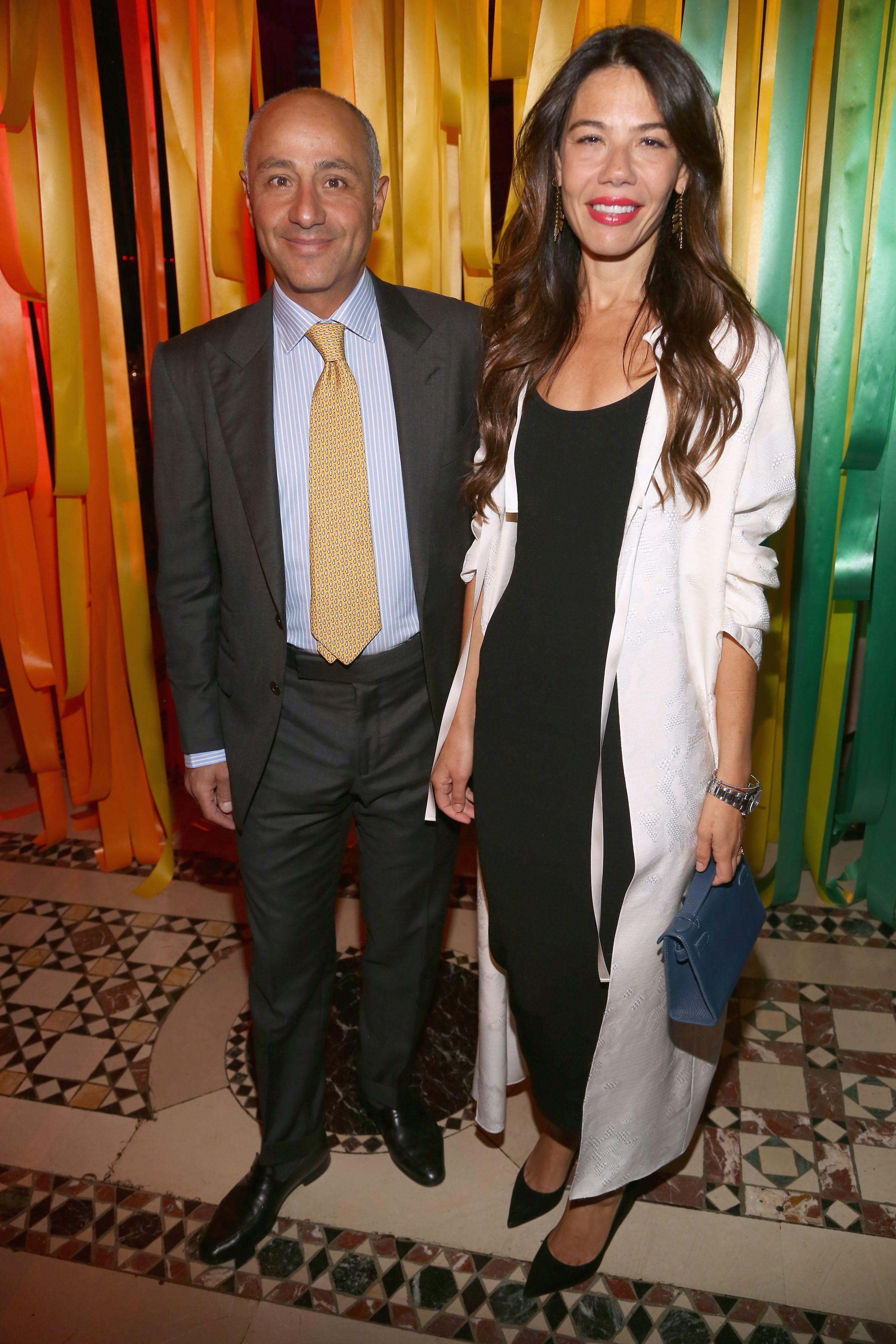 David and Libbie Mugrabi attending the AFIM Celebracion.