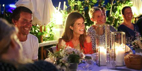 Event, Flower Arranging, Floral design, Lighting, Restaurant, Ceremony, Rehearsal dinner, Floristry, Art, Smile,