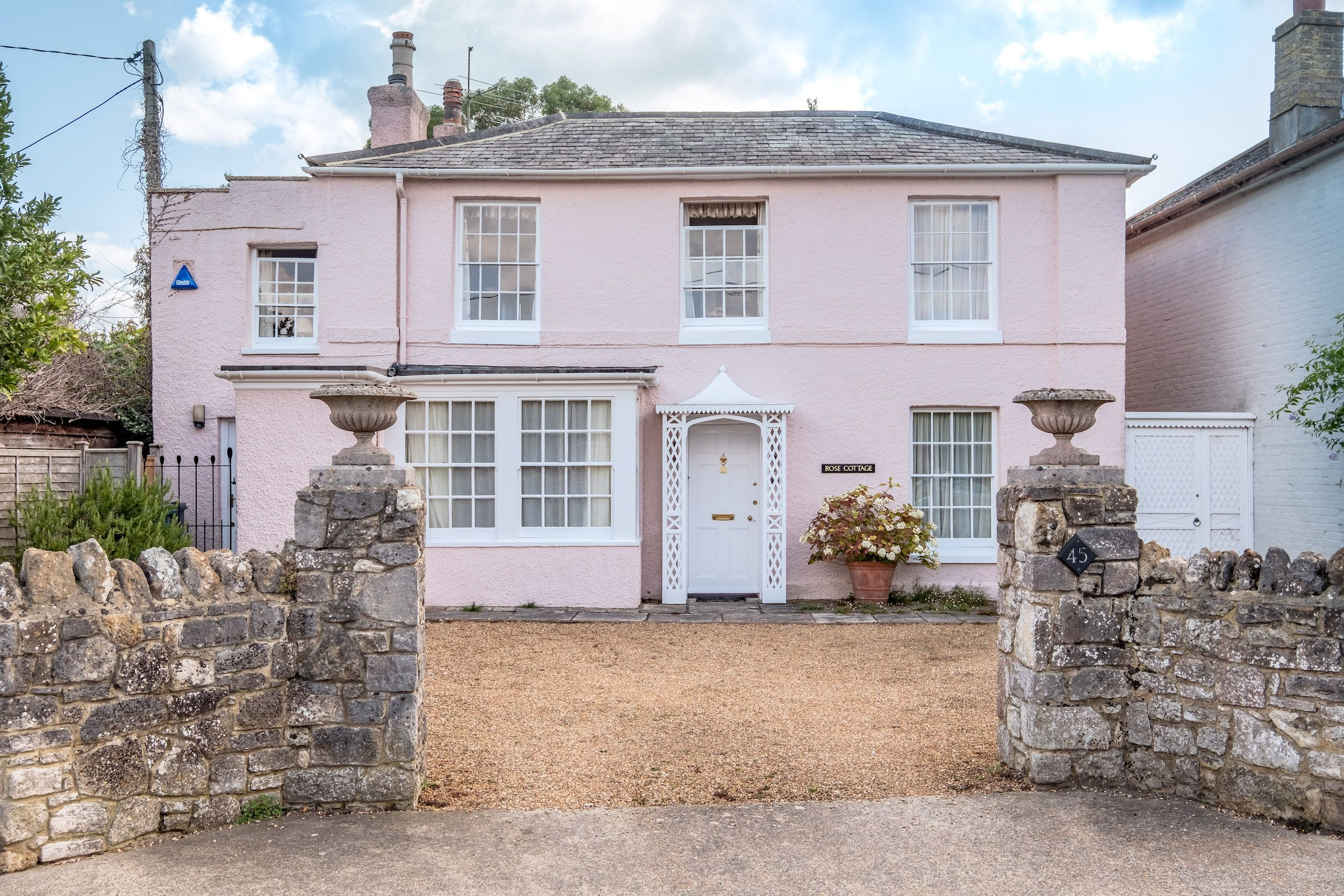 Childhood home of Pink Panther actor David Niven for sale on the Isle of Wight