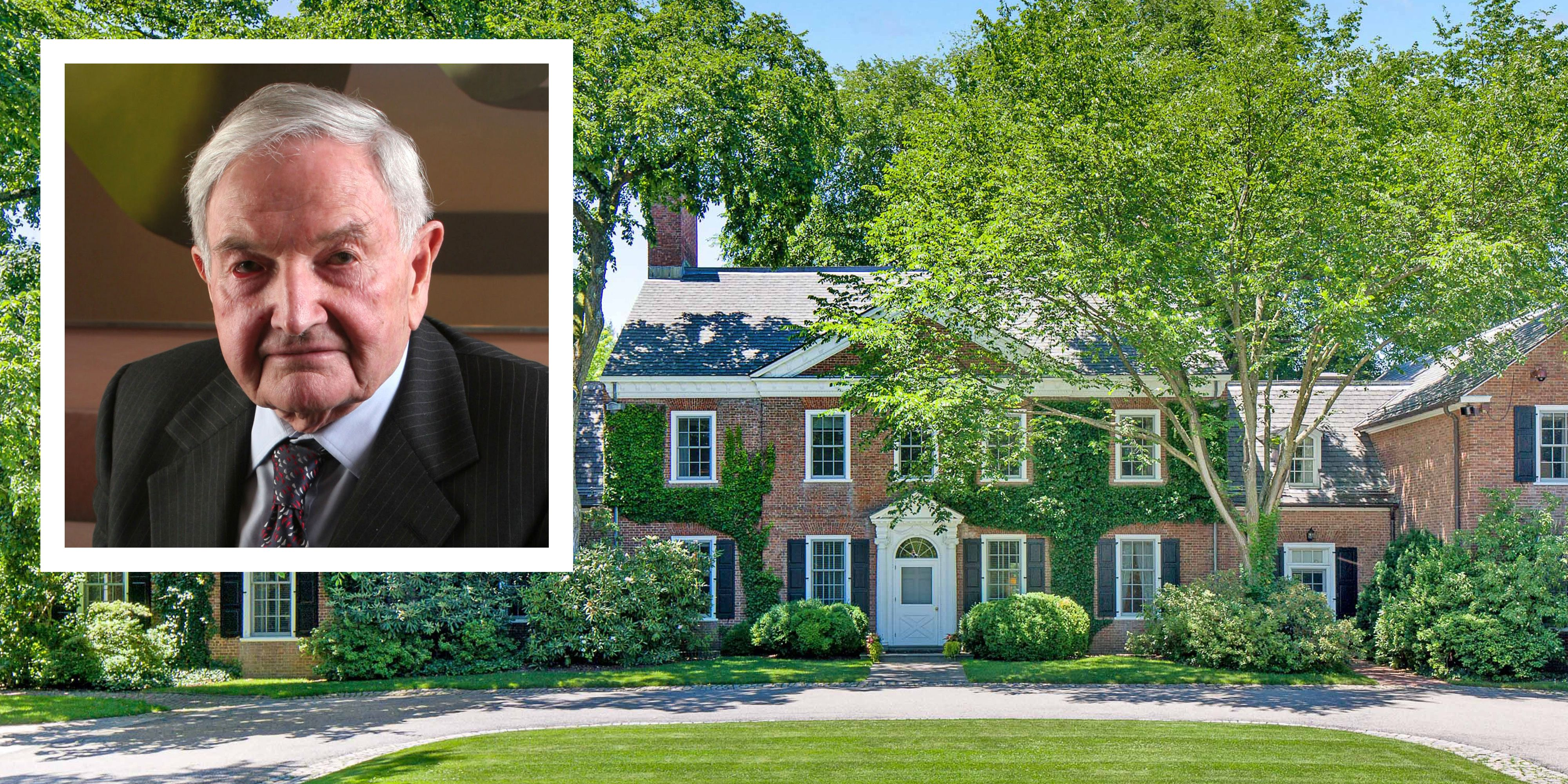 David Rockefellers Country House For Sale