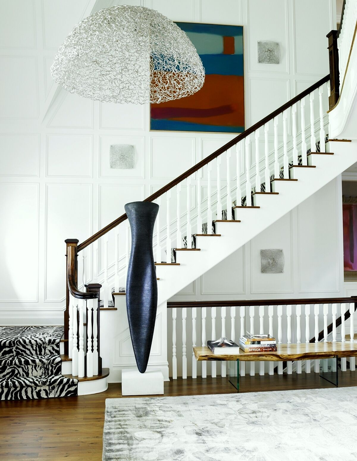27 Stylish Staircase Decorating Ideas How To Decorate Stairways