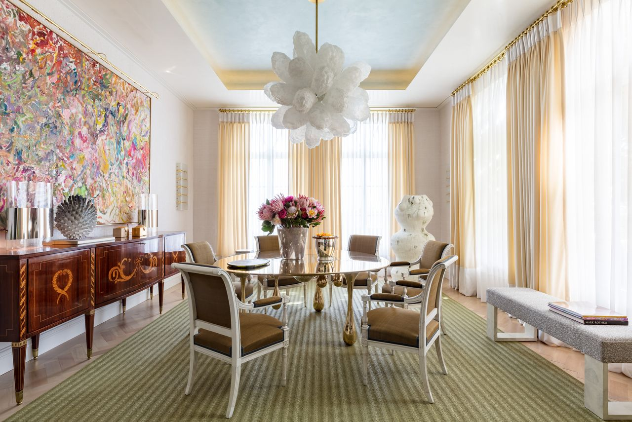 David Scott Kips Bay Palm Beach Dining Room Veranda