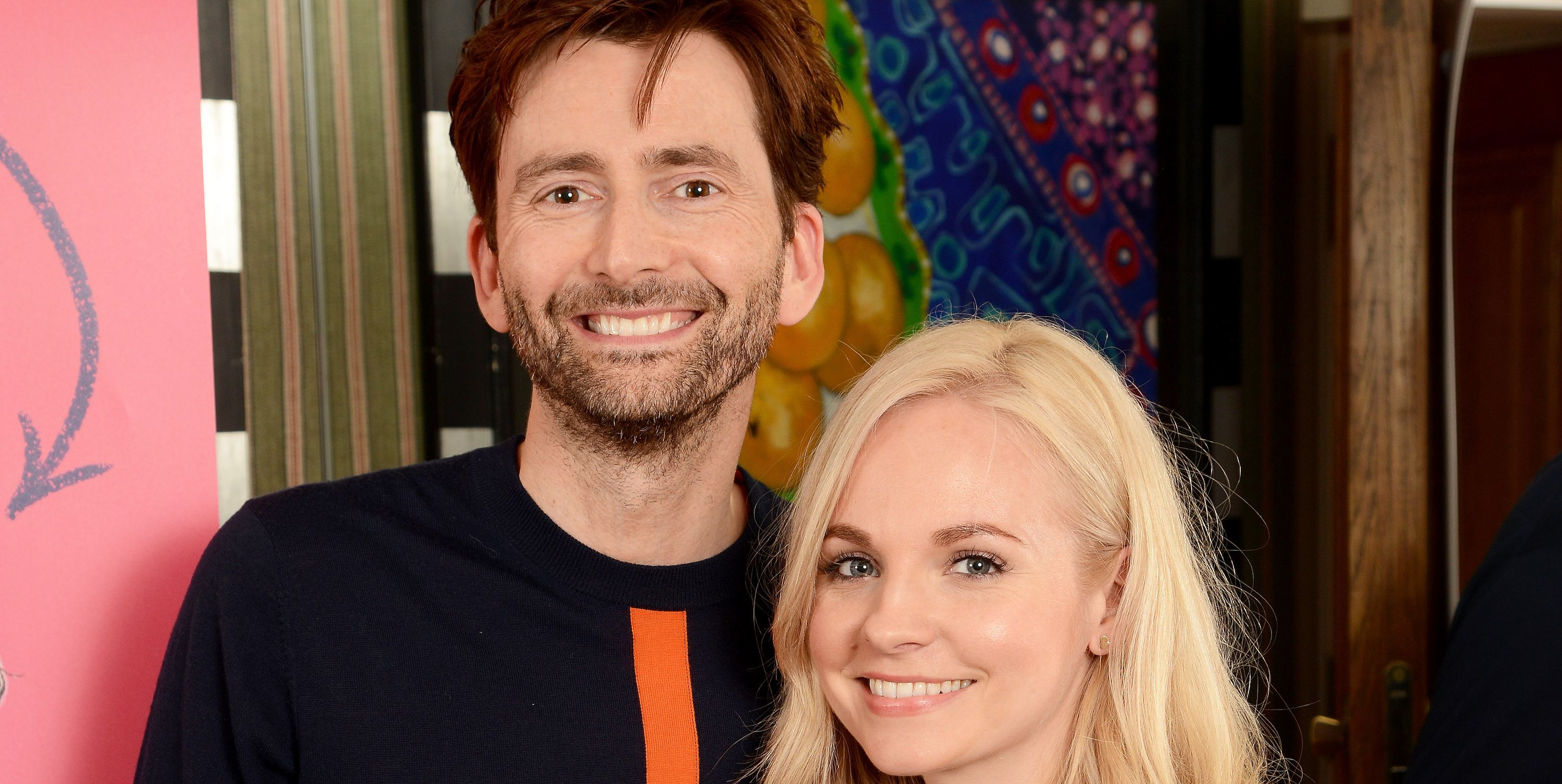 David Tennant and Georgia Tennant at You Me, and Him screening in 2018.