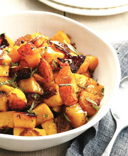 David Venable's Roasted and Glazed Butternut Squash Recipe Will Make You Happy Dance