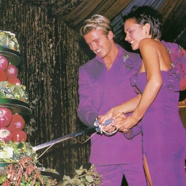 david victoria beckham wedding anniversary