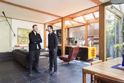 Matt Gibberd and     Albert Hill, founders     of The Modern Hous