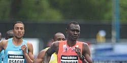 David Rudisha won the 800m at adidas Grand Prix in New York, May 2013