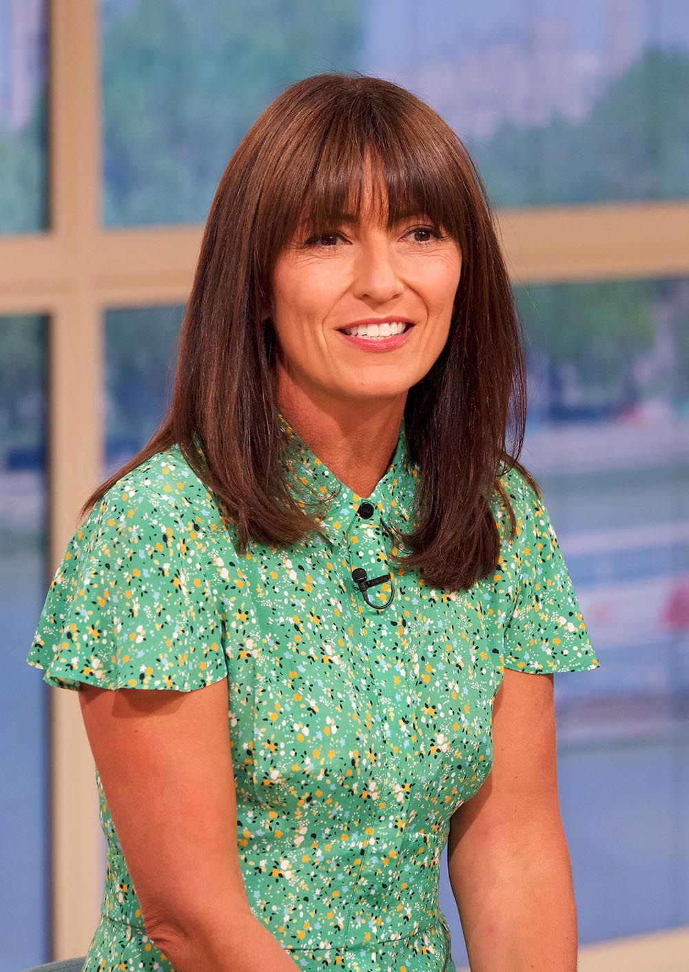 Davina McCall's just worn a stunning shirt dress on This Morning