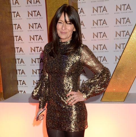 london, england   january 28 davina mccall attends the national television awards 2020 at the o2 arena on january 28, 2020 in london, england photo by dave j hogangetty images