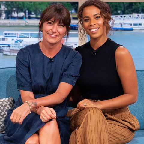 Davina McCall Rochelle Humes This Morning