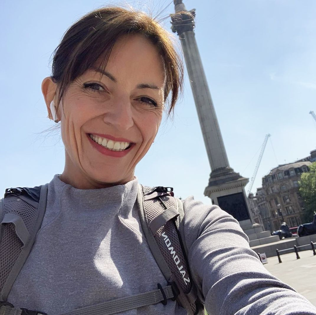 The Simple Morning Hack That Means Davina McCall Never Misses a Workout
