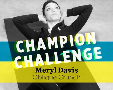 Champion Challenge: How to Do an Oblique Crunch