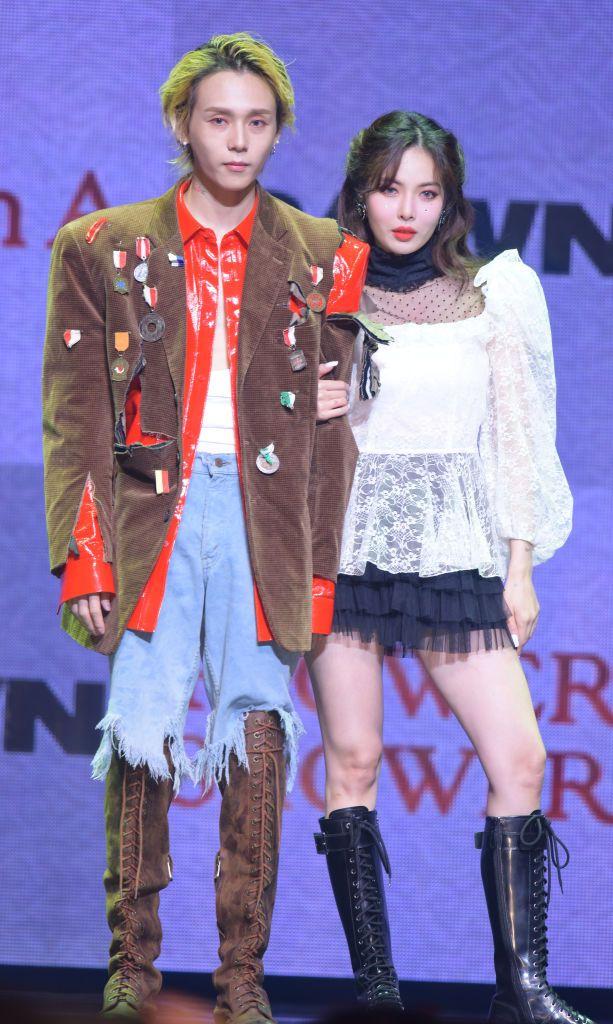 カップルでユニットアルバムをリリースしたヒョナとdawnが、9月13日にラジオ番組『チェ・ファジョンのパワータイム』にゲスト出演。交際6年目になっても変わらないラブラブな姿を披露した。
