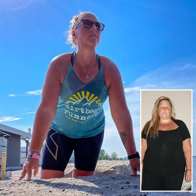 dawn desarmeau running weight loss
