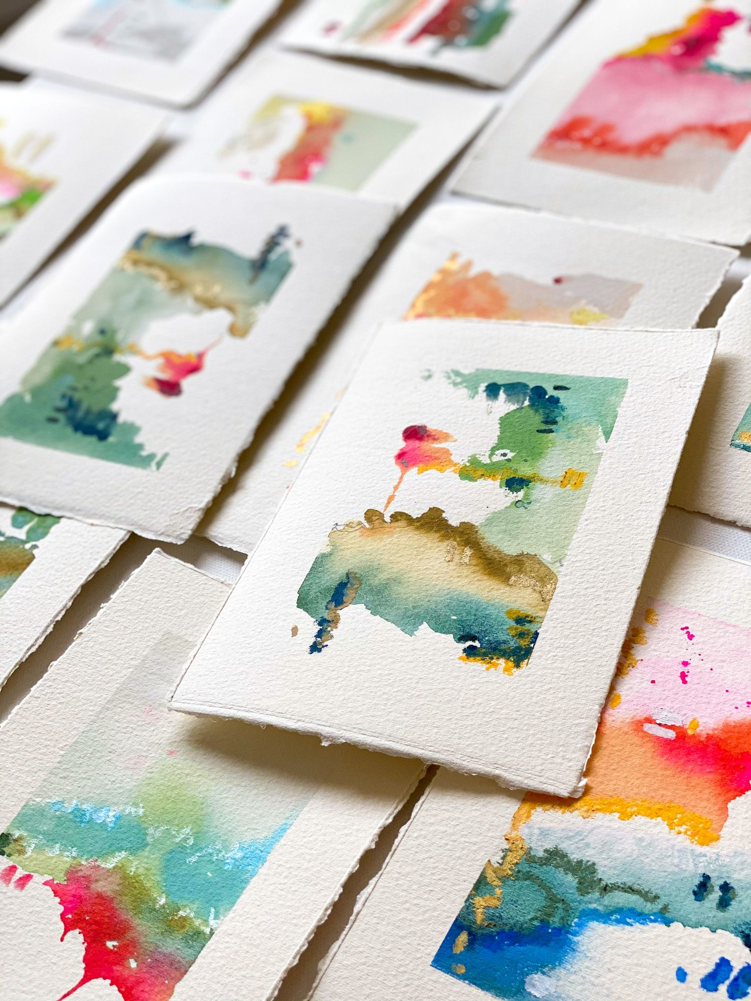 """This Onetime Interior Designer Became a Fine Artist So She Could """"Paint Joy"""""""