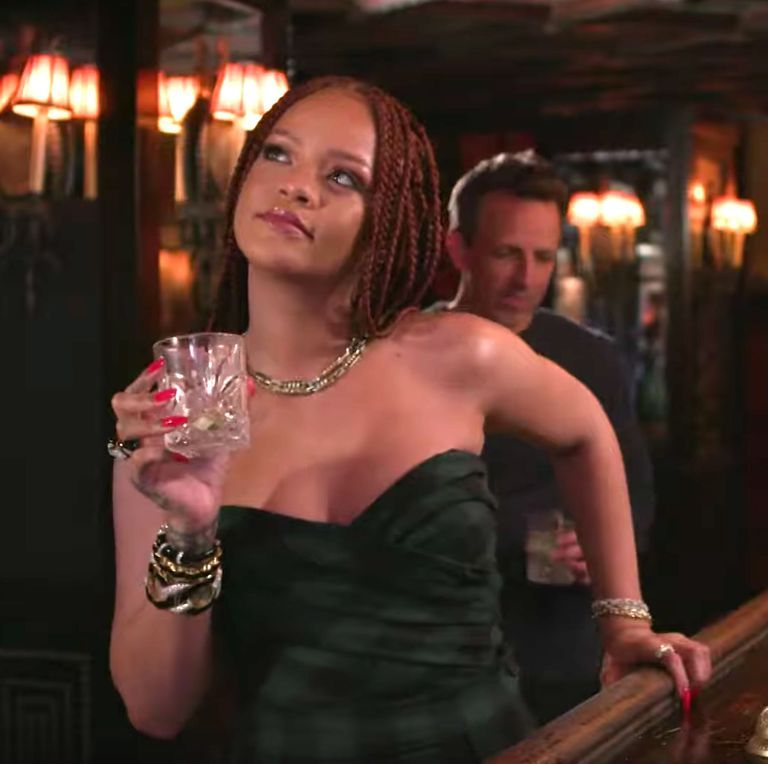 This Video of Rihanna and Seth Meyers Getting Day Drunk Together Is Almost Too Much to Take In