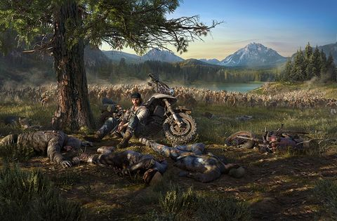 Pc game, Strategy video game, Adventure game, Screenshot, Tree, Biome, Vehicle, Grass, Tire, Landscape,
