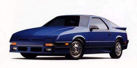 Land vehicle, Vehicle, Car, Coupé, Dodge charger daytona, Sports car, Sedan, Dodge daytona, Classic car,