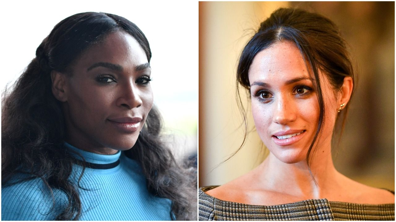 Serena Williams Just Fully Shut Down a Meghan Markle Question