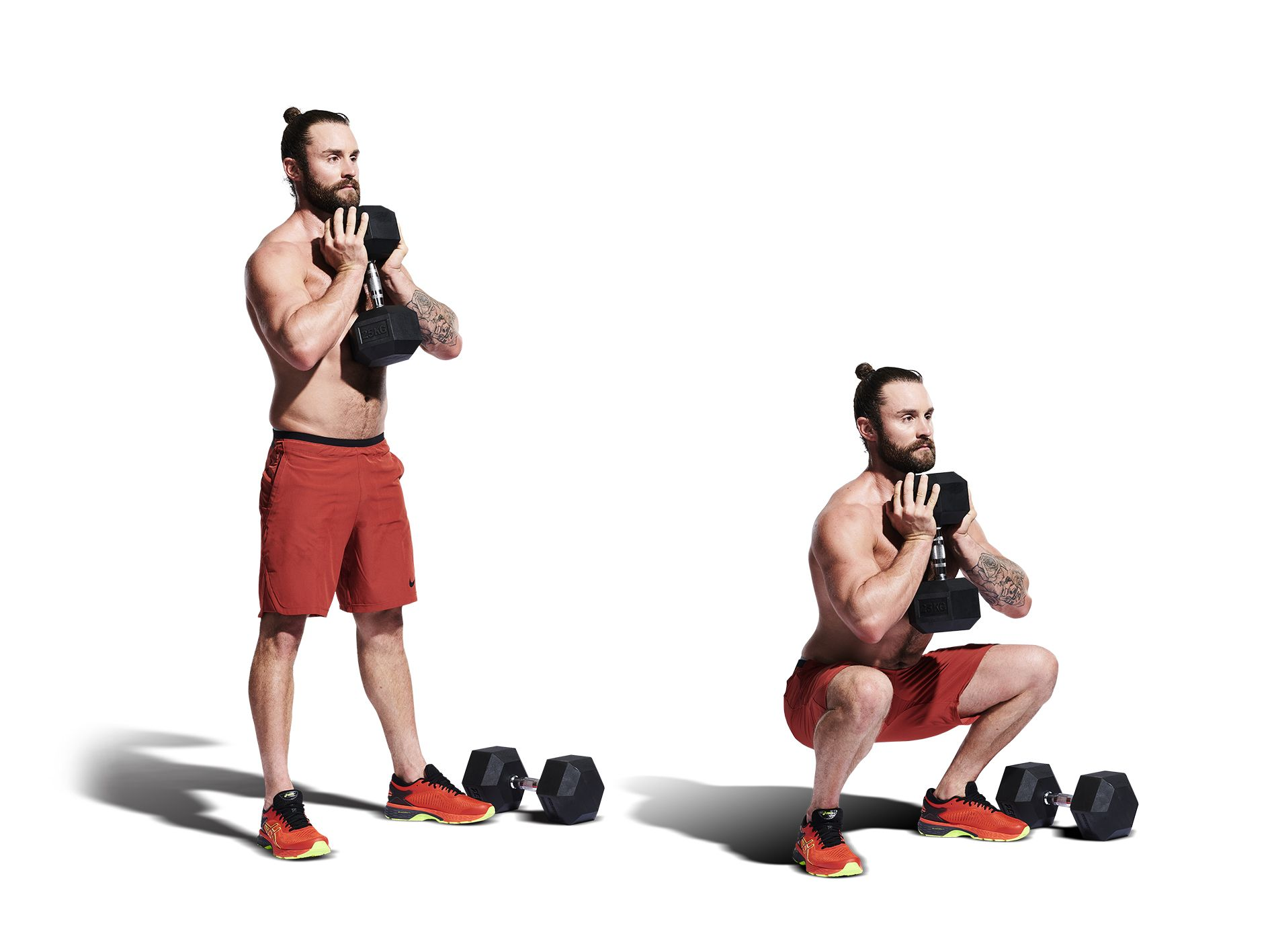 Can You Finish Our 230-Rep Dumbbell CrossFit Home Workout?