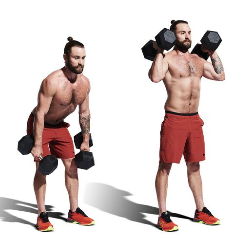 weights, exercise equipment, muscle, shoulder, arm, dumbbell, standing, kettlebell, sports equipment, bodybuilding,