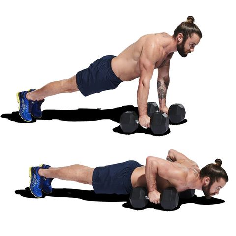 Press up, Weights, Arm, Exercise equipment, Abdomen, Physical fitness, Joint, Muscle, Fitness professional, Exercise,