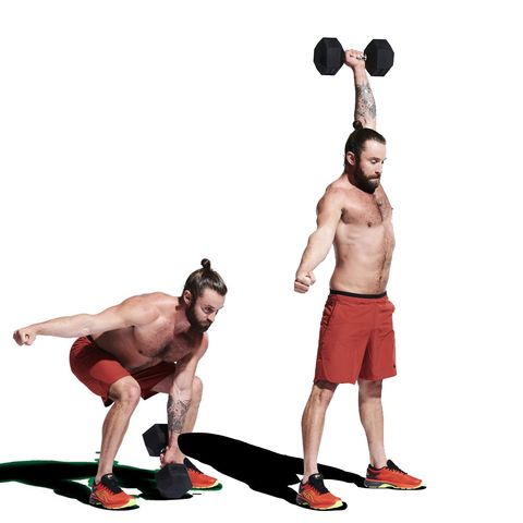 Weights, Exercise equipment, Kettlebell, Arm, Standing, Physical fitness, Sports equipment, Chest, Balance, Dumbbell,