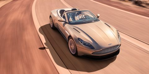 The 2018 Db11 Volante Is Aston Martin S New Drop Top V8 Cruiser