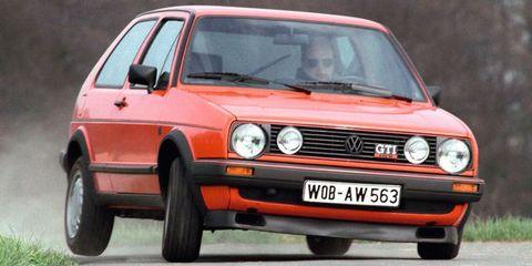 Land vehicle, Vehicle, Car, Regularity rally, Hatchback, Volkswagen, Volkswagen golf mk2, Volkswagen golf mk1, Volkswagen golf, Automotive design,