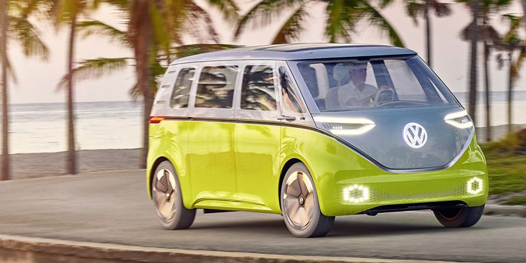 VW Will Apparently Build This Retro Electric Microbus