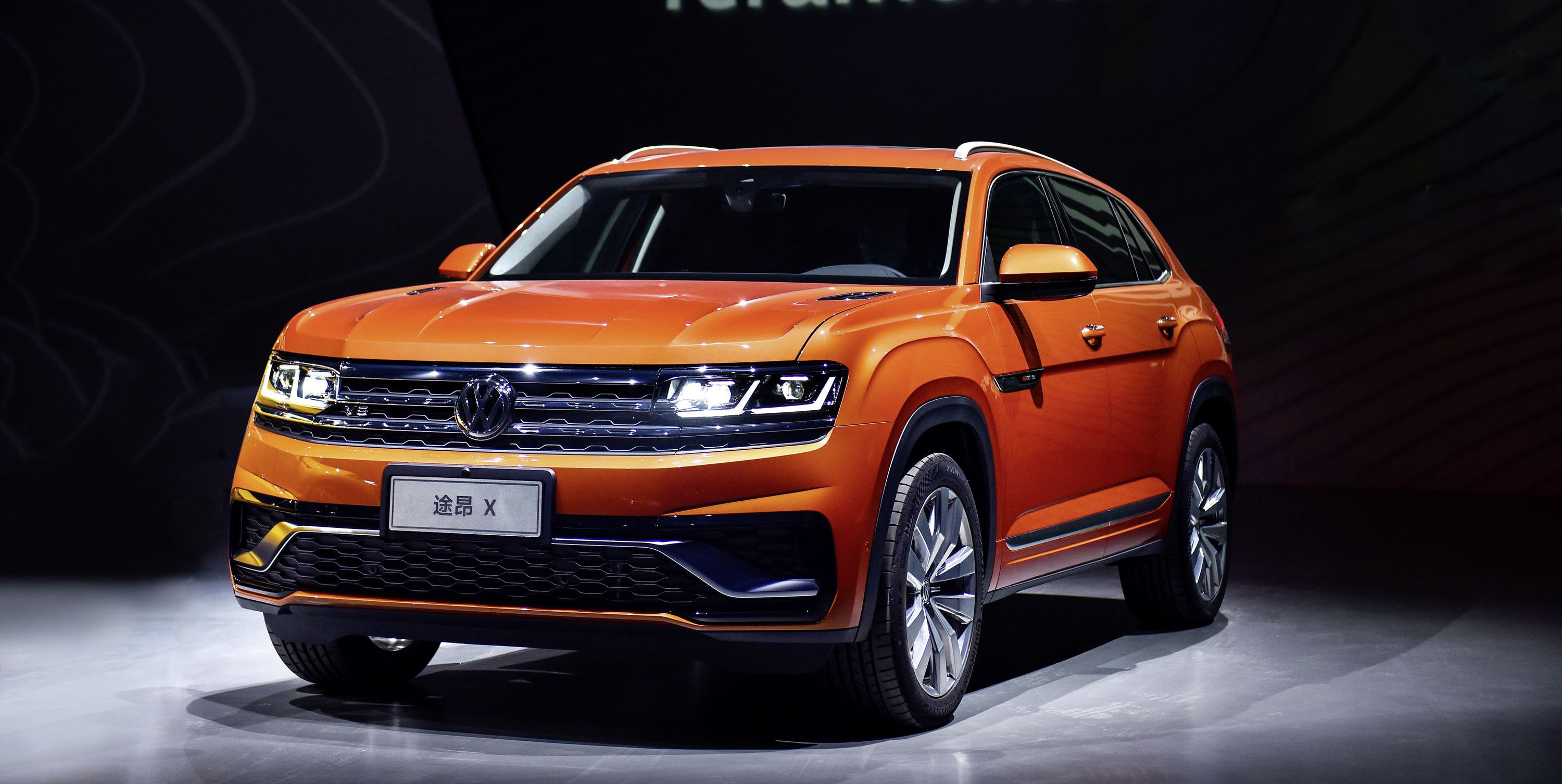 This Is Volkswagen's Two-Row Version of the Atlas, Expected in the U.S. Later This Year