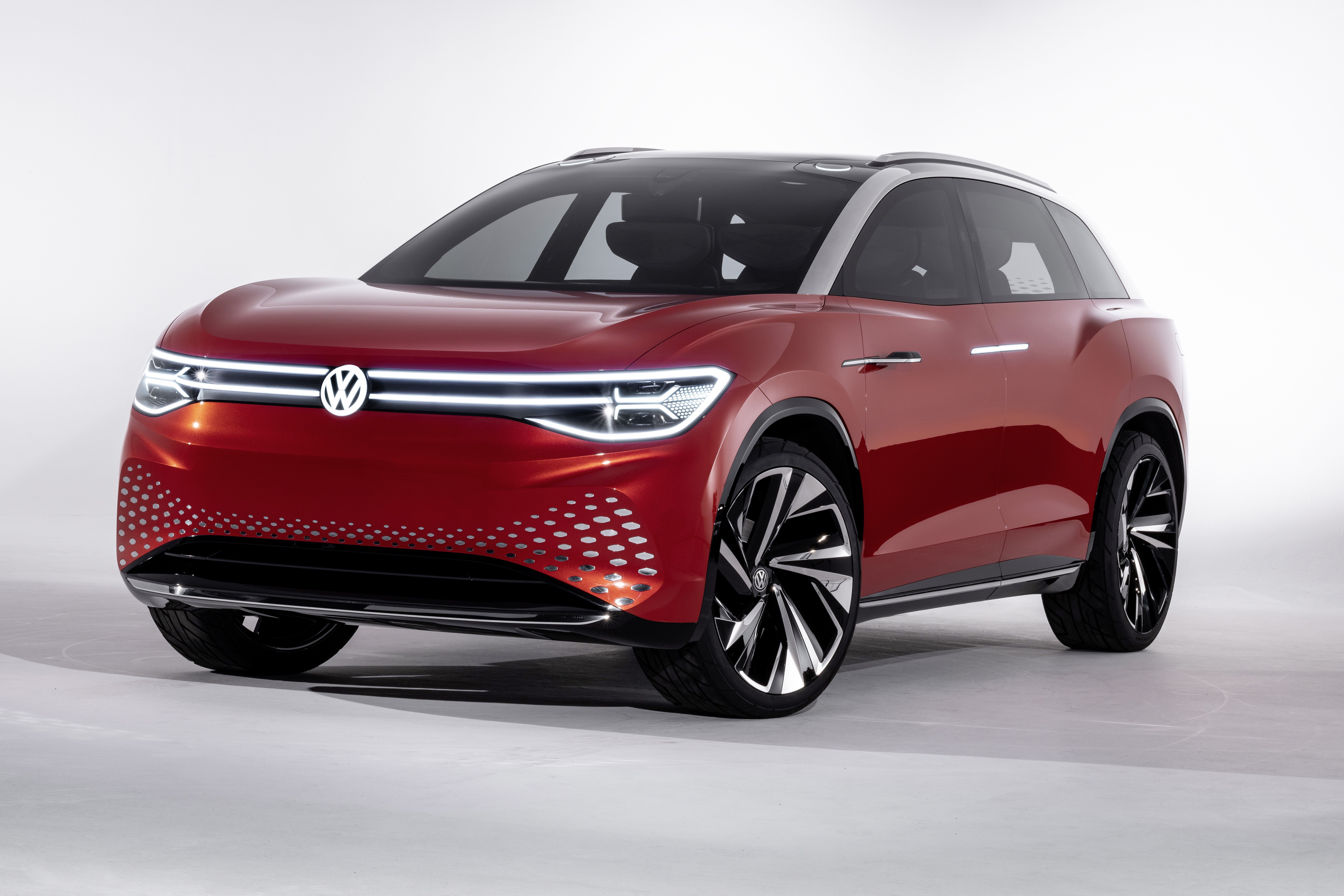 Volkswagen Says This I D Roomzz Electric Suv Concept Will Be Out In 2021