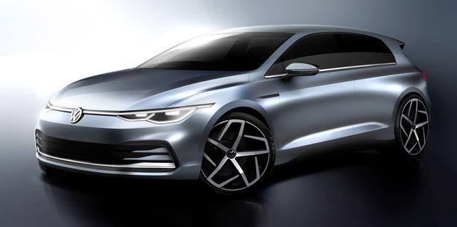 New Volkswagen Golf Mk 8 Debuts October 24