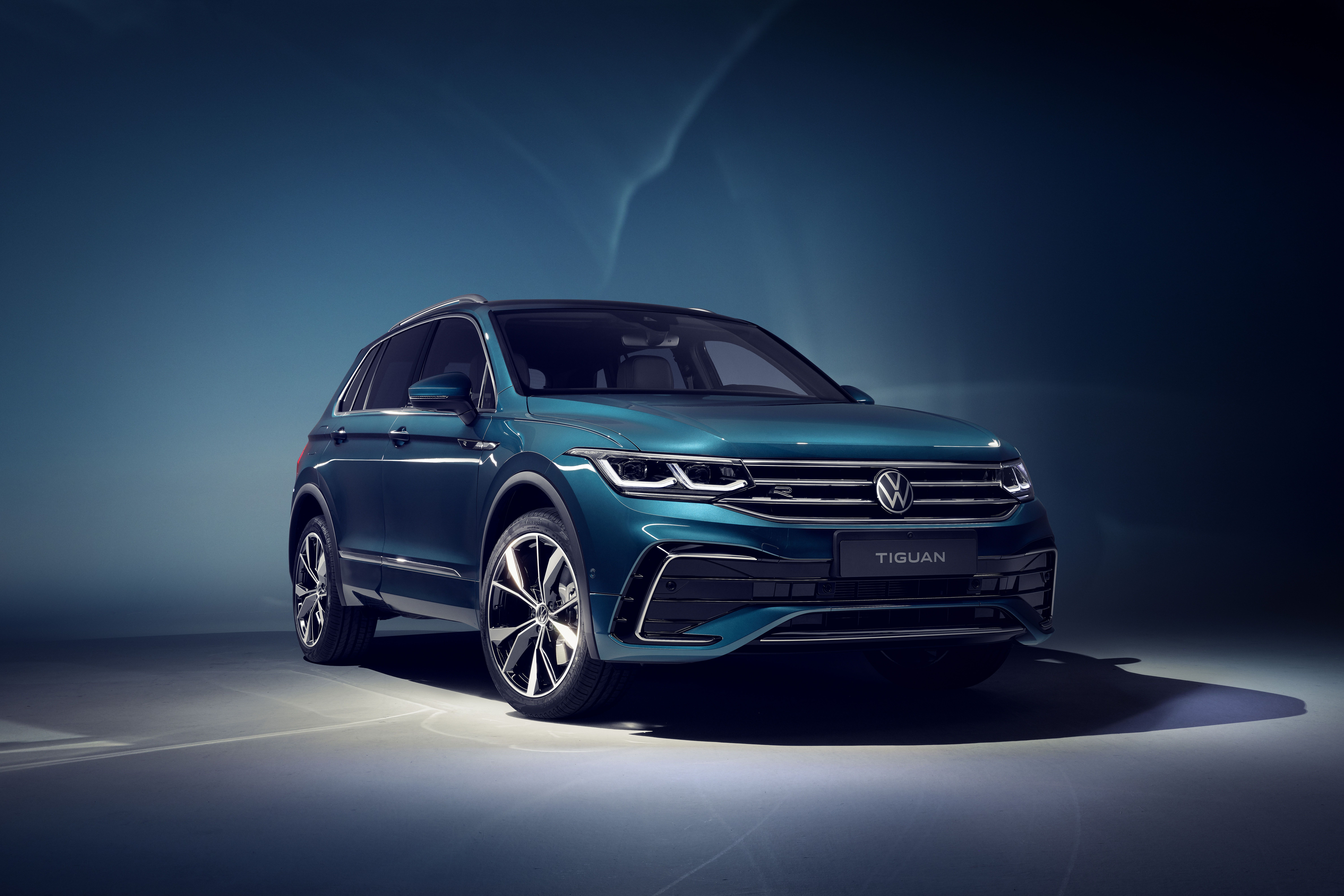 5 Volkswagen Tiguan Has a More Appealing New Front End