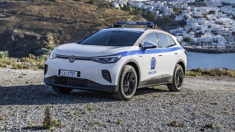 volkswagen id4 policía