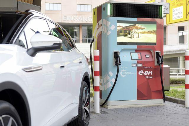 eon booster ev charging station