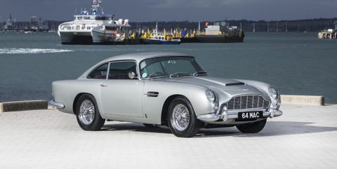 You Have To Love The Sound Of The Aston Martin Db5