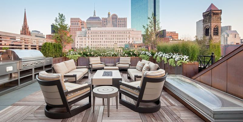 The 20 Luxury Terraces And Rooftops Of Your Summer Party Dreams
