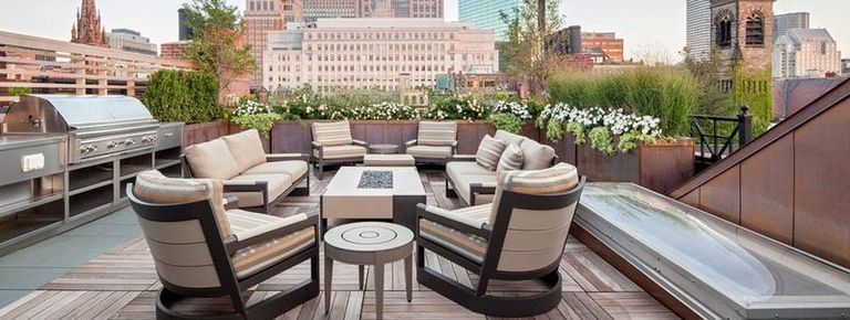 20 luxury terrace and rooftop decor ideas summer party for Terrace party decoration ideas