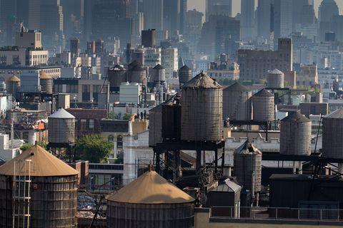 new york city water tanks