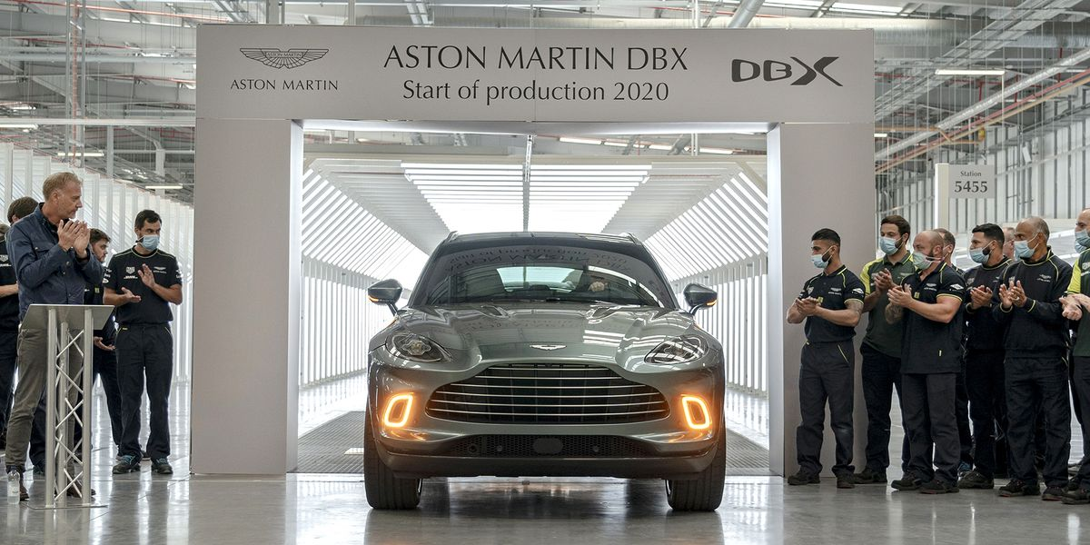 First Aston Martin DBX Rolls off Assembly Line, in Time to Save Company