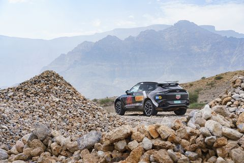 2020 Aston Martin DBX SUV photo gallery