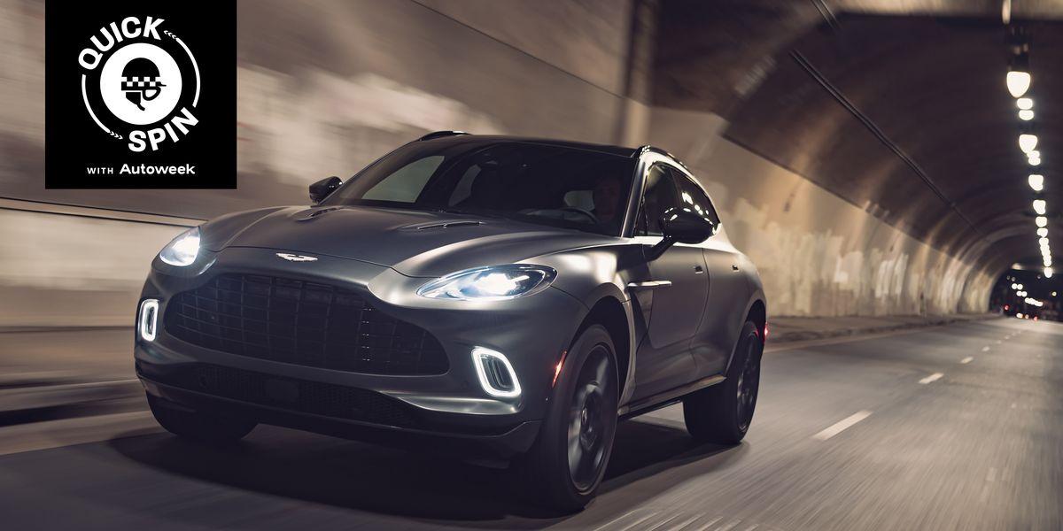Aston Martin's DBX Crosses Into the Unknown