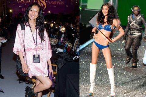 Clothing, Fashion, Fashion model, Fashion show, Model, Leg, Event, Thigh, Costume, Style,