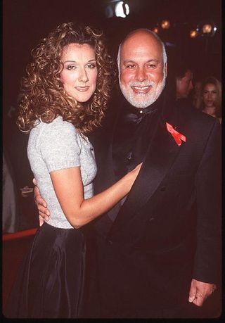 Céline Dion e René Angelil da giovani