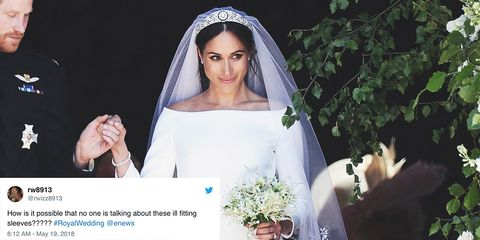 5b7d59dd97 Twitter Doesn t Love Meghan Markle s Dress - Twitter Is Calling Meghan  Markle s Wedding Gown