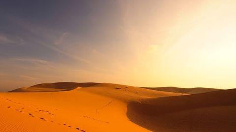 woestijn-heet