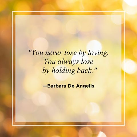 Barbara De Angelis Love Quotes for Him