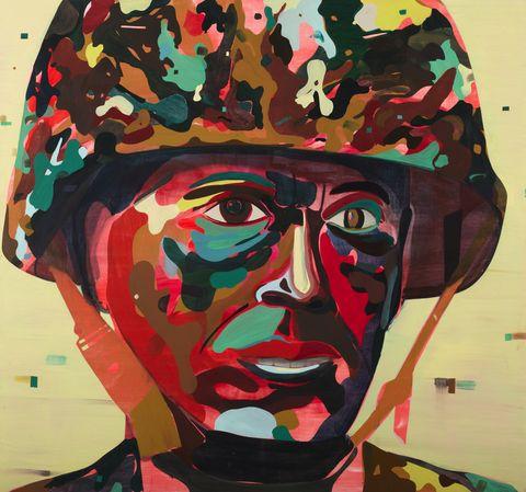 psychedelic-soldier-de-balincourt-maramotti