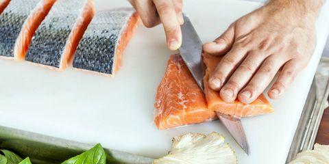 snijden gladde etenswaren tip